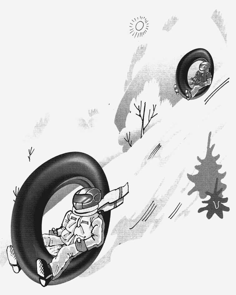 самодельный снегокат