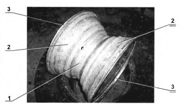 Обод колеса для облегчённых шин низкого давления